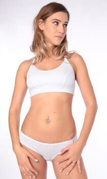 Топ послеродовый хлопок ем 6005 EUROMAMA - Евромама для беременных и  кормящих - Вы можете купить в нашем интернет-магазине одежды для беременных,  есть cd0d0f7c7ac